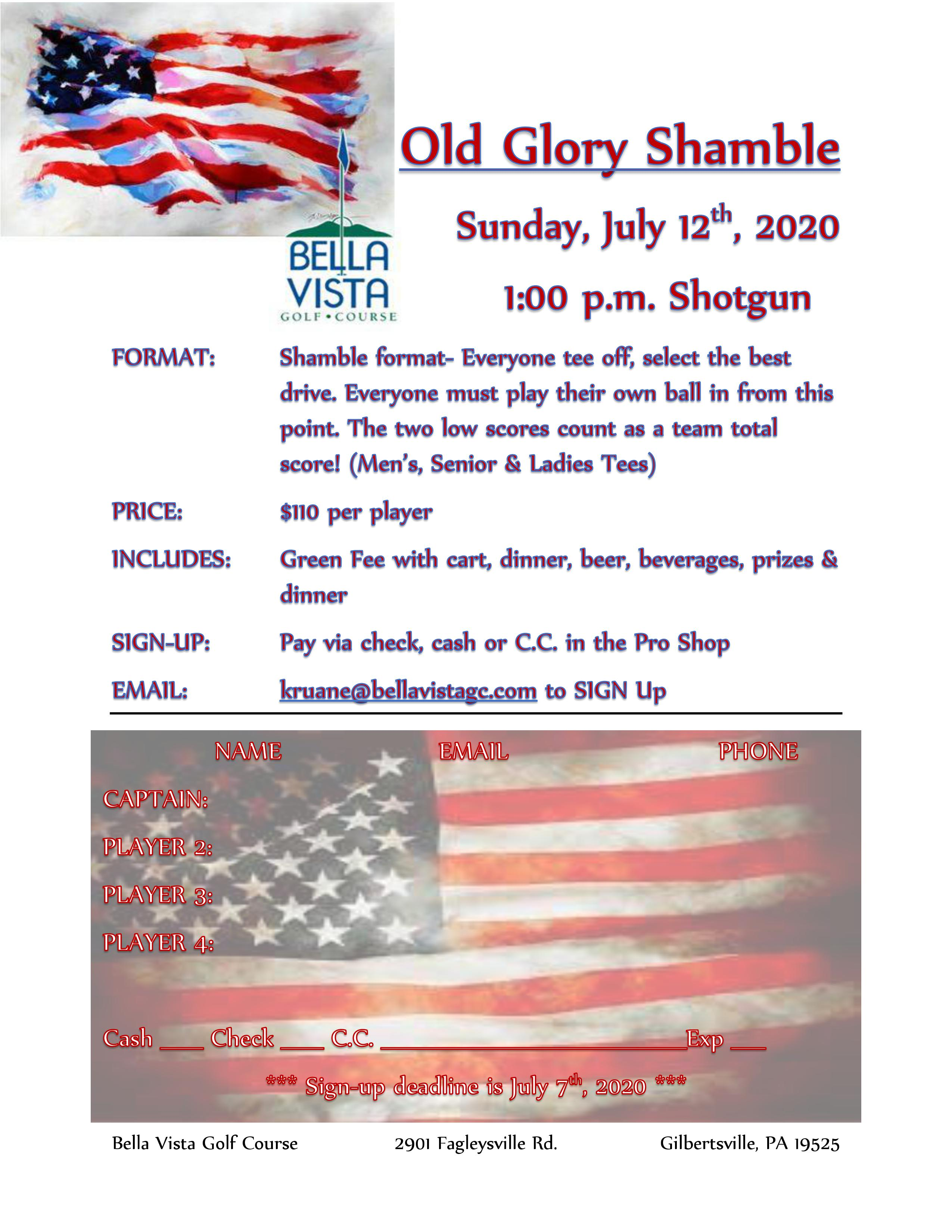 Old Glory Shamble